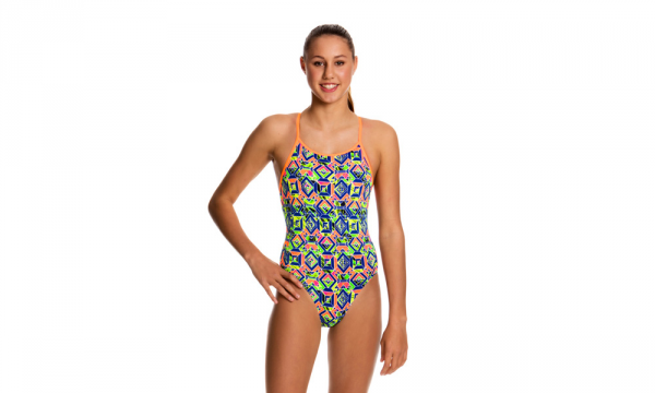 Costum fete Funkita Diamond Back Clockwork Orange