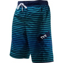 Short Sunset Stripe Boardshort