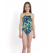 Costum de baie Speedo pentru fete allover rippleback