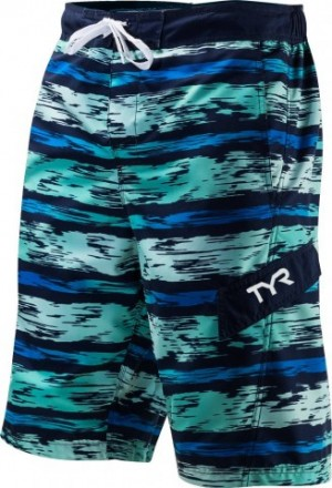 Short Paint Stripe Boardshort